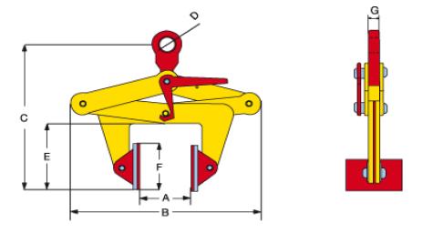 TBLC technische tekening