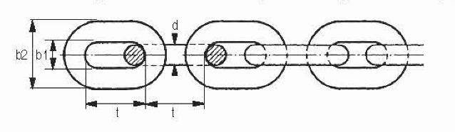 Lastketting Cromox CHK, grade 60