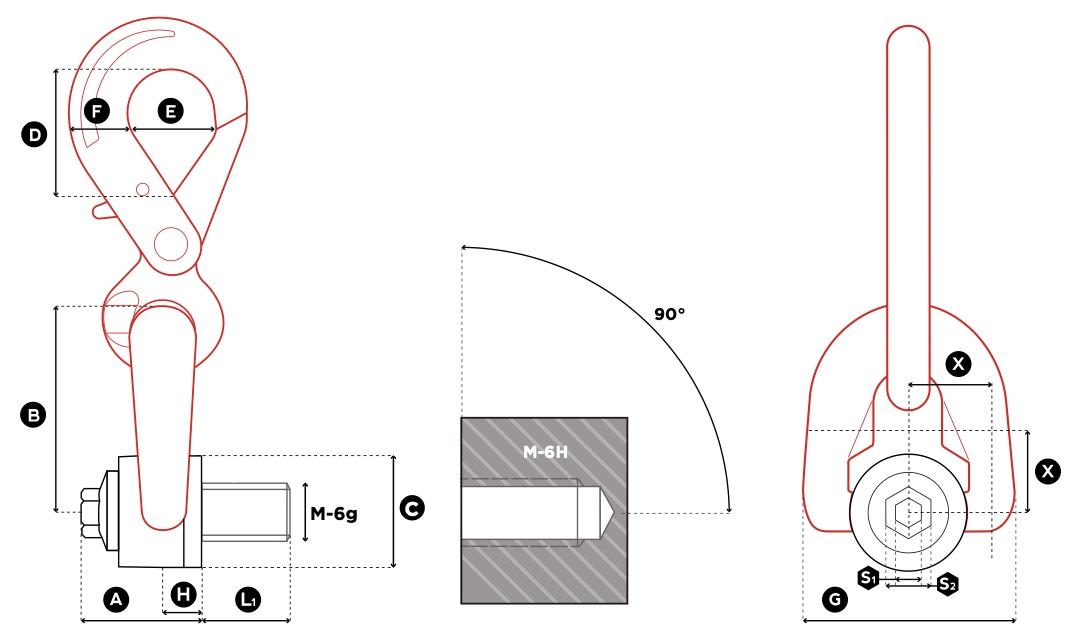 DSH technische tekening