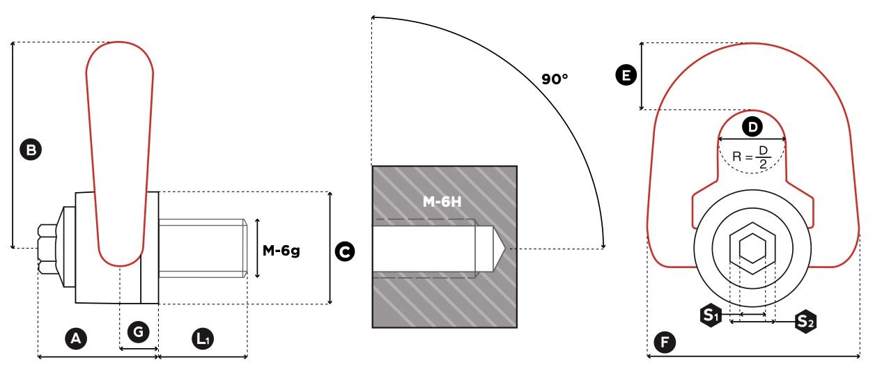 DSP technische tekening