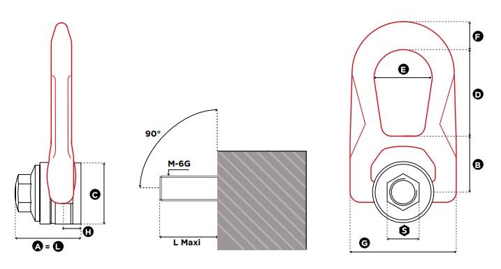 DSR technische tekening
