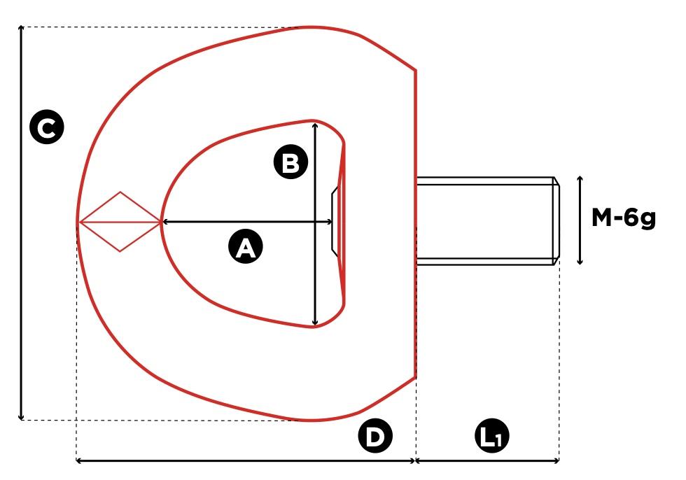 SEB technische tekening