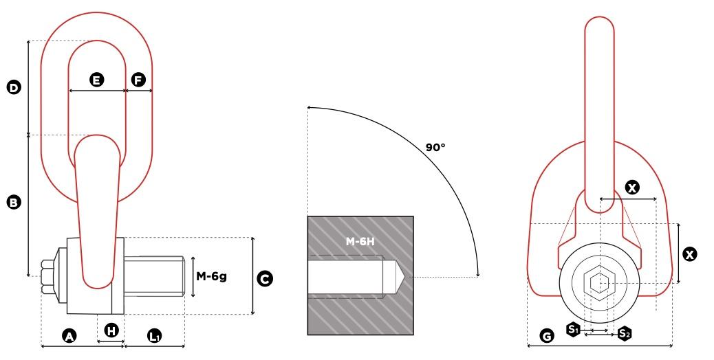 TSR technische tekening