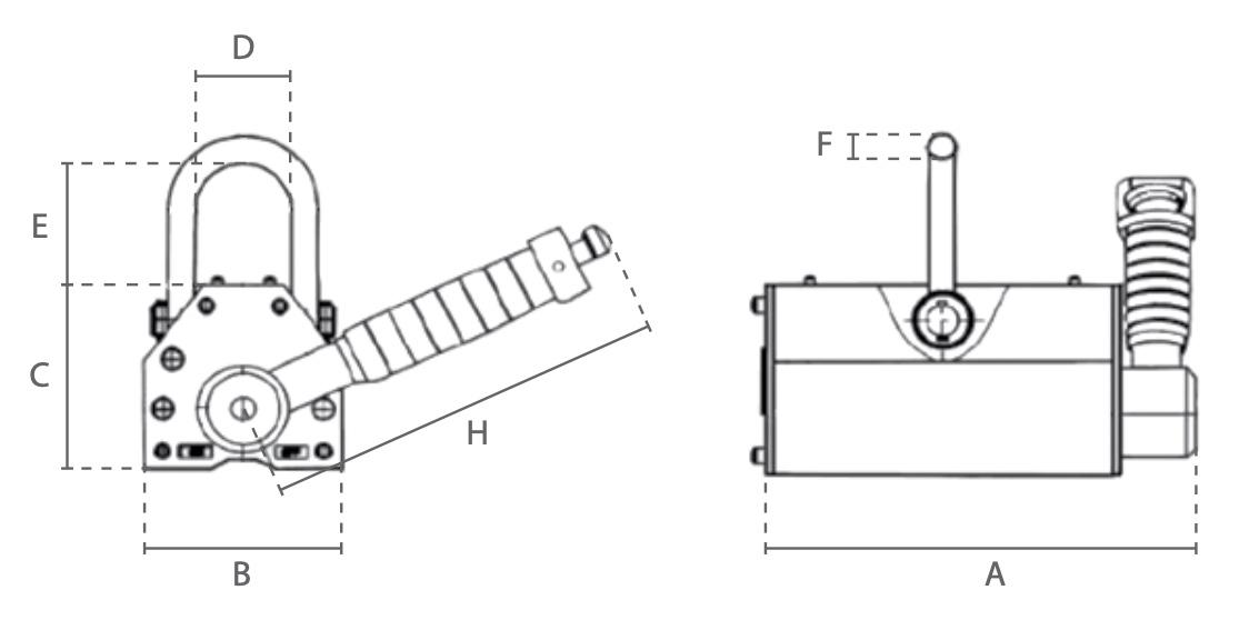 DML technische tekening