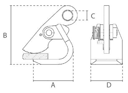 HDT technische tekening