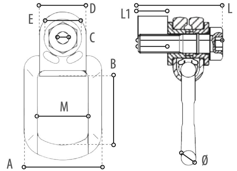 WO80 technische tekening