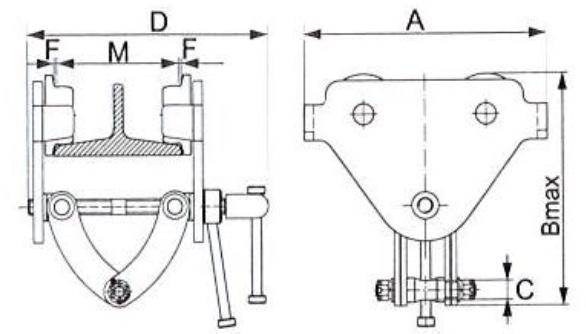 TC technische tekening