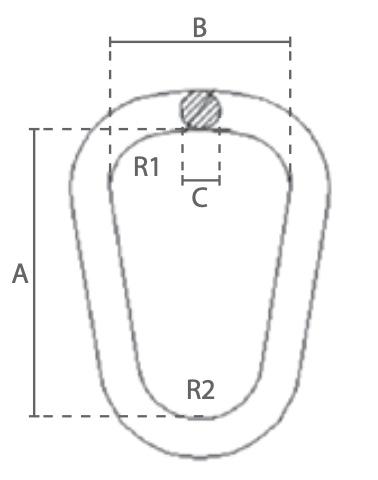 KS80 technische tekening