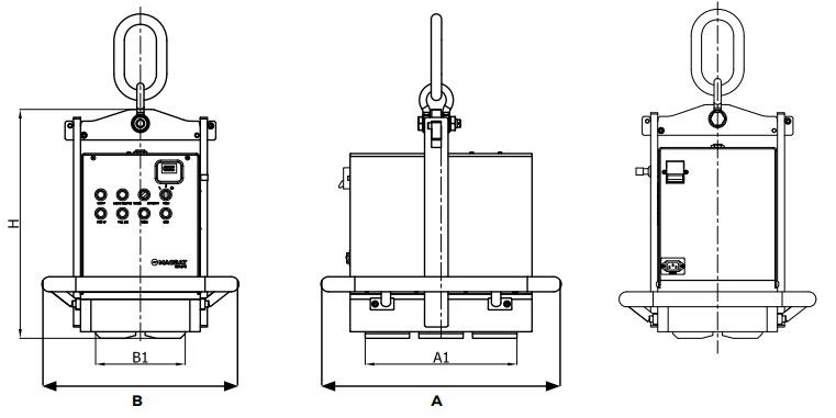 HBEP technische tekening