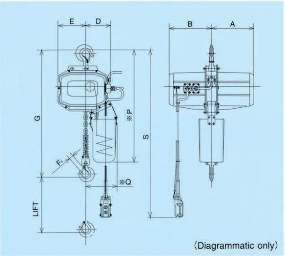 ECC-4 technische tekening