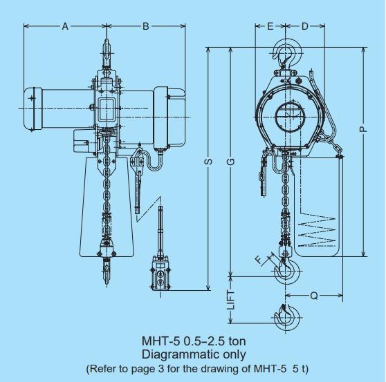 MH5 technische tekening