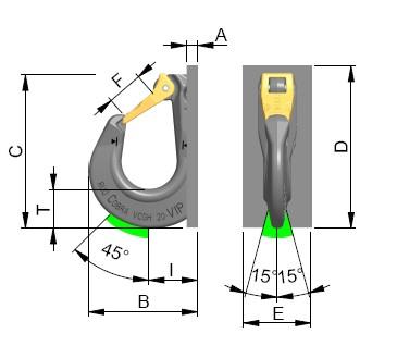 VCGH-S technische tekening