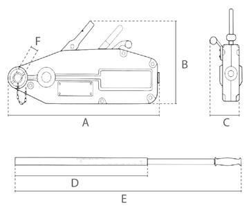 STD technische tekening