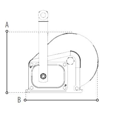 BHW technische tekening
