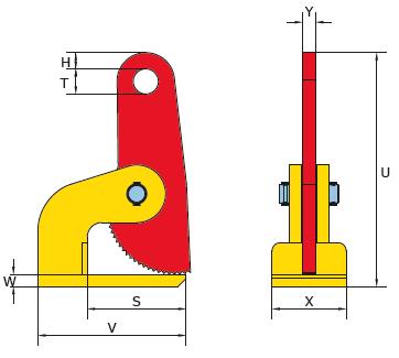 FHX technische tekening