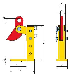THSK technische tekening