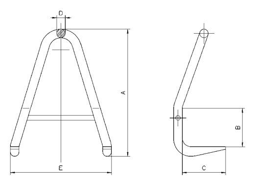 BVH technische tekening