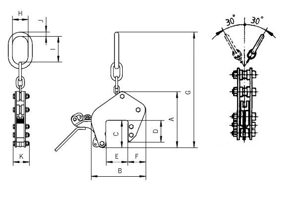 TAG technische tekening