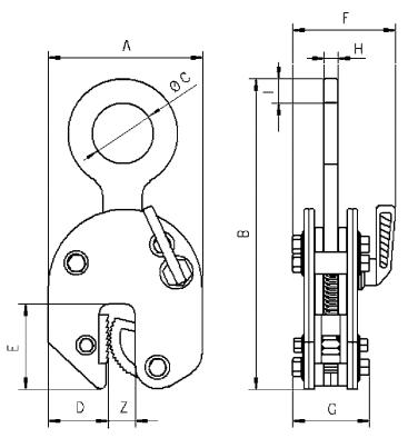 TBL+ technische tekening