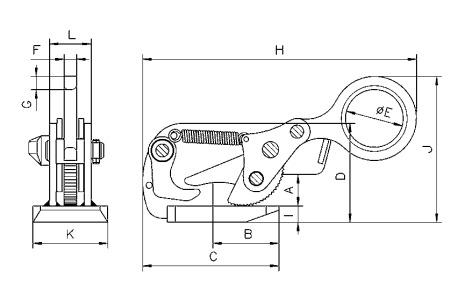 THS technische tekening