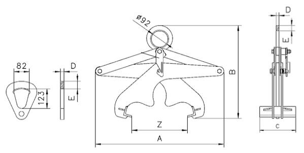 TPR technische tekening