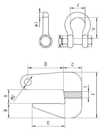 TRO technische tekening