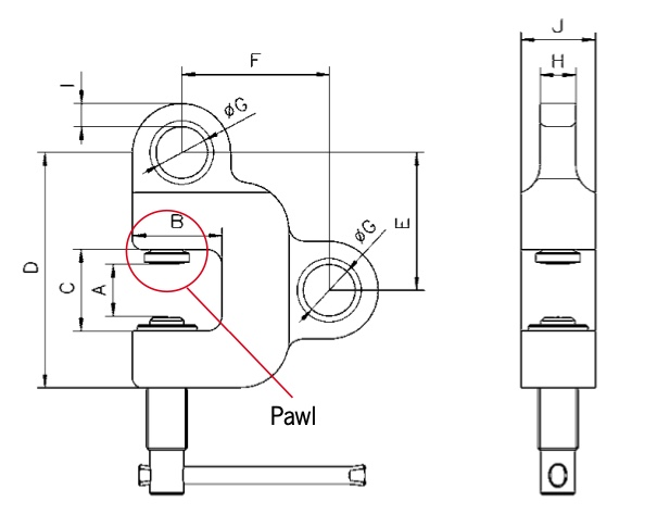 TSZ technische tekening