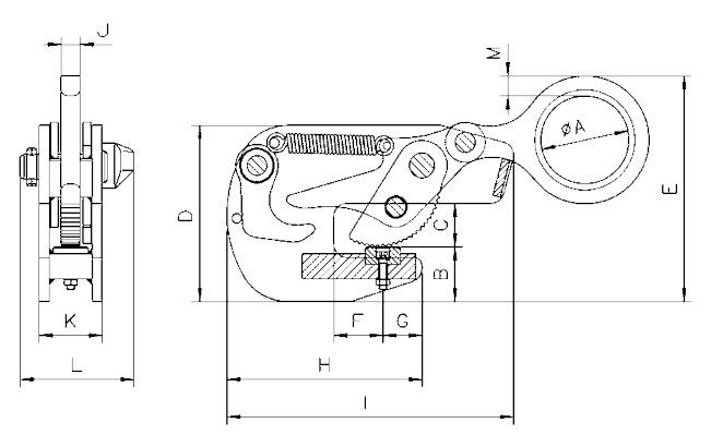 TTG technische tekening