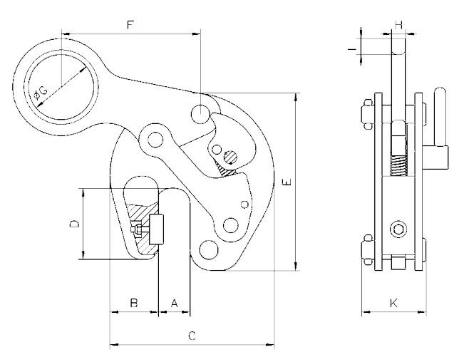 TTR technische tekening