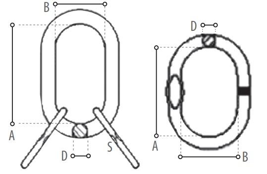 TS100 technische tekening