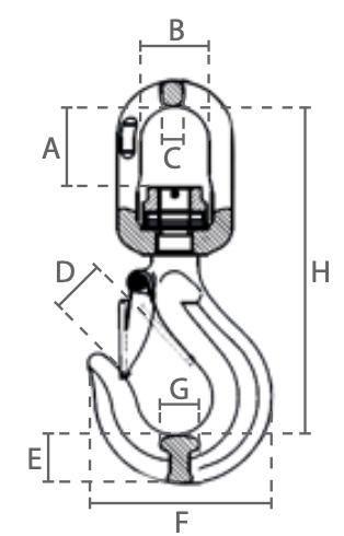 WHL80 technische tekening
